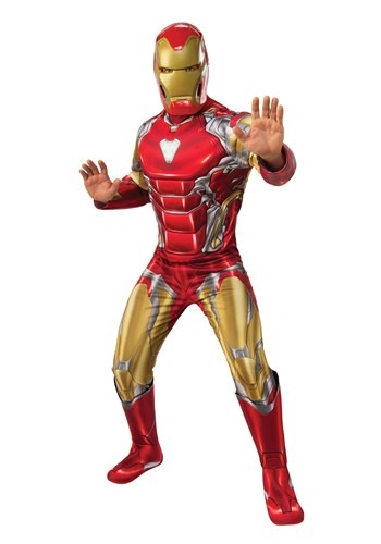 AVENGERS ENDGAME DELUXE IRON MAN MEN'S COSTUME