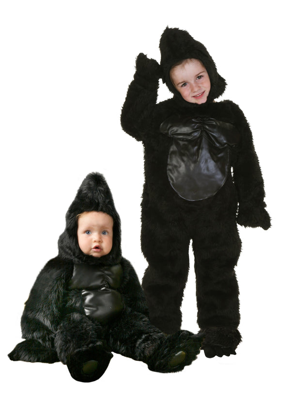 DELUXE CHILD GORILLA COSTUME