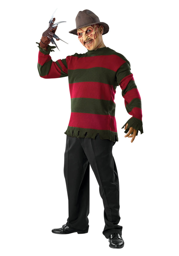 DELUXE FREDDY COSTUME SWEATER W/ MASK