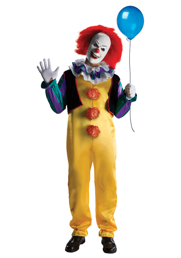 DELUXE IT PENNYWISE ADULT COSTUME