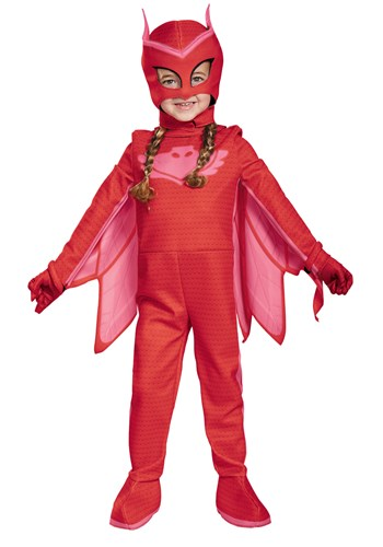 PJ MASKS DELUXE GIRLS OWLETTE COSTUME