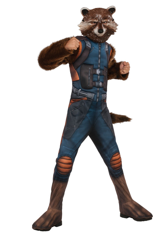 DELUXE ROCKET RACCOON COSTUME FOR KIDS