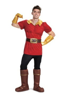 DISNEY BEAUTY AND THE BEAST MEN'S GASTON COSTUME