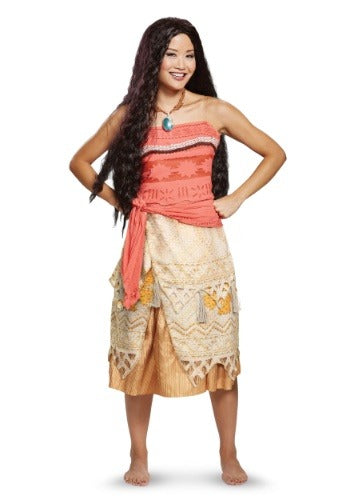 DISNEY MOANA WOMENS COSTUME