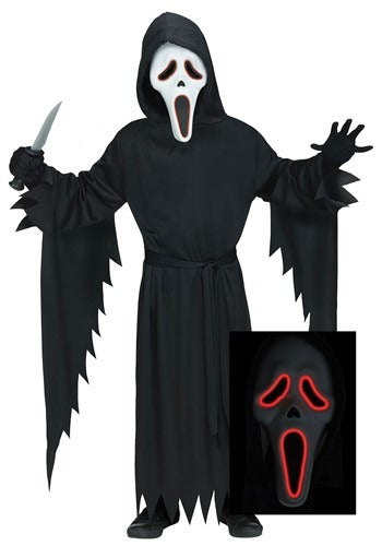 E.L Ghost Face Costume for Adults