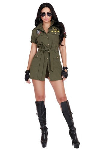 FIGHTER PILOT COSTUME FOR WOMEN