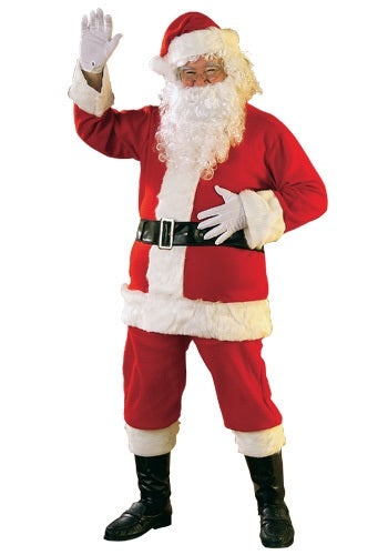 FLANNEL SANTA SUIT COSTUME