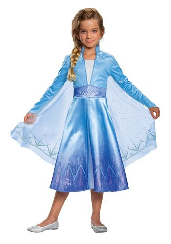 DELUXE DISNEY FROZEN 2 GIRLS ELSA COSTUME