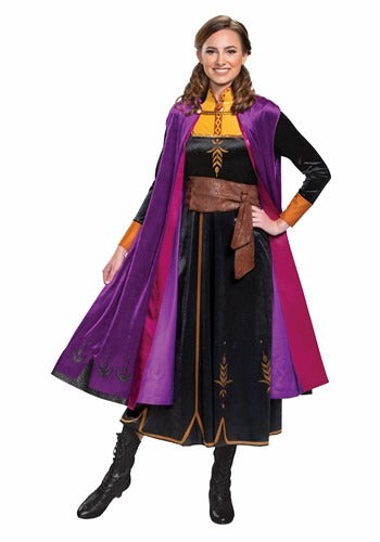 DELUXE FROZEN 2 ANNA COSTUME FOR WOMEN