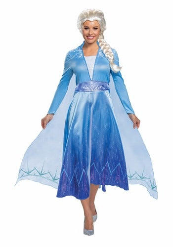 DELUXE DISNEY FROZEN 2 ELSA WOMEN'S COSTUME