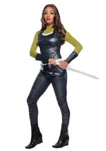 GUARDIANS OF THE GALAXY GAMORA WOMEN'S COSTUME