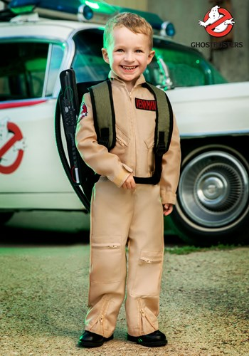 Ghostbusters Toddler's Deluxe Costume
