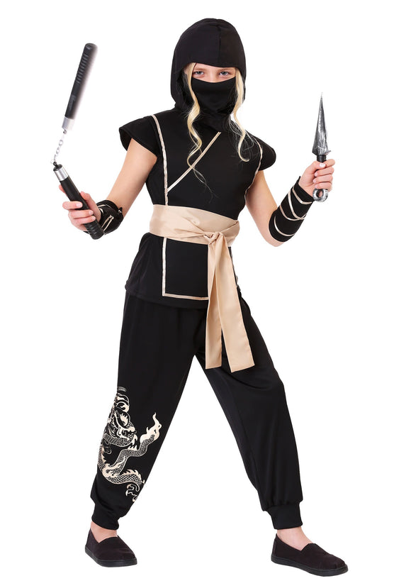 GIRLS GUARDIAN NINJA COSTUME