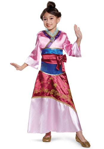 Mulan Deluxe Child Costume