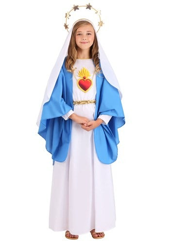 NATIVITY MARY COSTUME FOR GIRLS