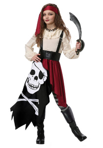 KID'S PIRATE FLAG GYPSY COSTUME