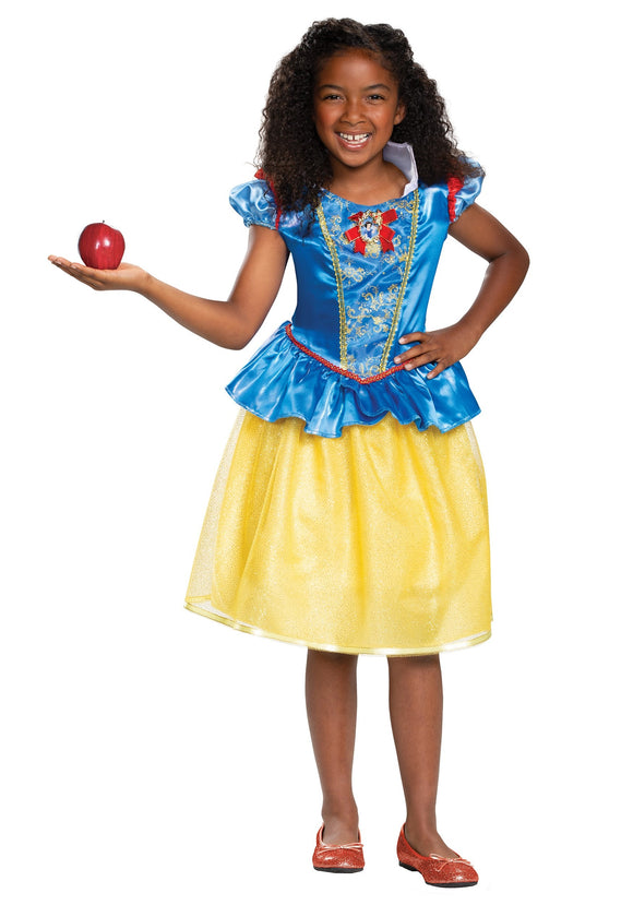 SNOW WHITE CLASSIC COSTUME FOR GIRLS