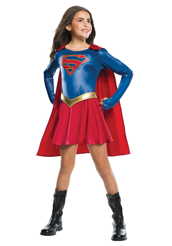 SUPERGIRL TV COSTUME FOR GIRLS