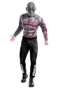MARVEL GUARDIANS OF THE GALAXY DELUXE DRAX COSTUME