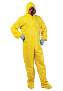 HAZMAT Suit & Mask Costume