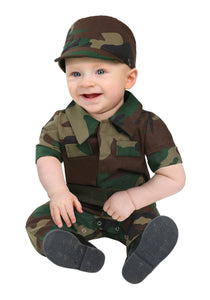 INFANT INFANTRY SOLDIER COSTUME