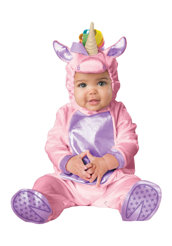 INFANT'S PINK UNICORN COSTUME
