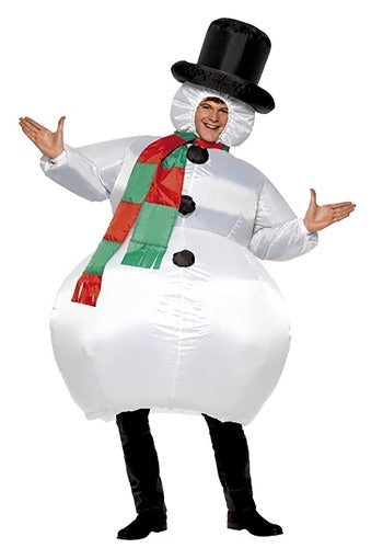 INFLATABLE SNOWMAN COSTUME FOR ADULTS