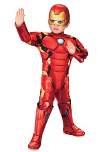 Deluxe Iron Man Toddler Costume
