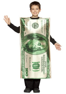 KIDS 100 DOLLAR BILL COSTUME