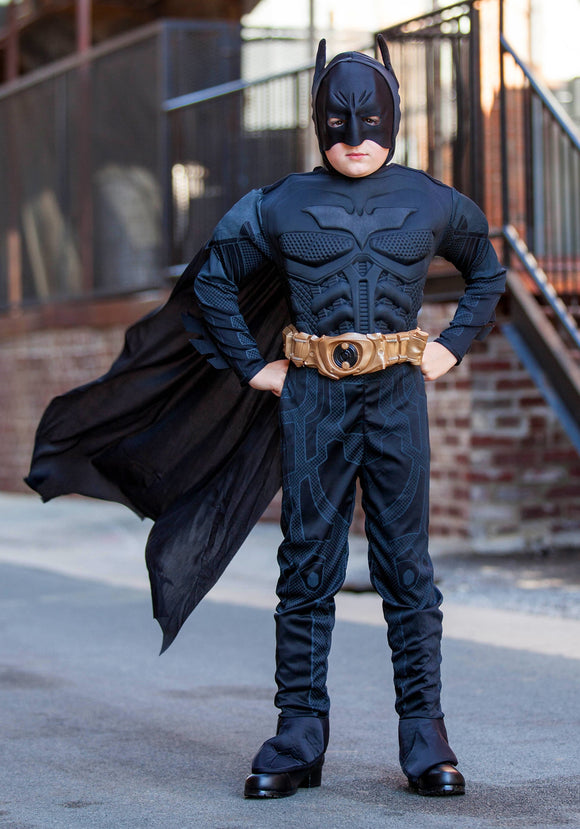 Deluxe Toddler Dark Knight Batman Costume