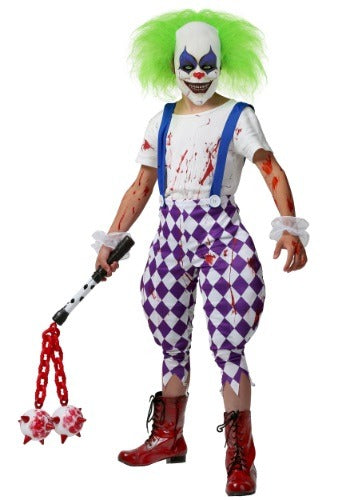 Kid's Nightmare Clown Costume