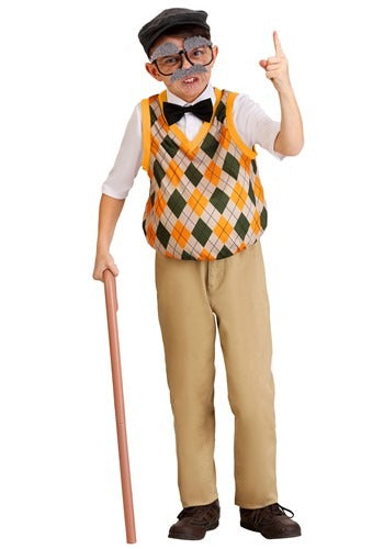 OLD MAN COSTUME FOR KIDS