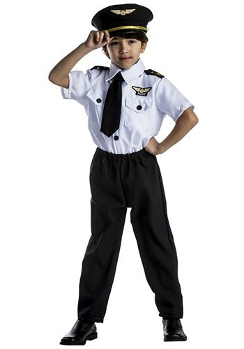 CHILD YOUNG PILOT COSTUME