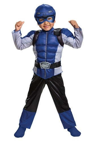 POWER RANGERS BEAST MORPHERS KID'S BLUE RANGER COSTUME