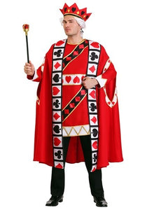 ADULT KING OF HEARTS COSTUME