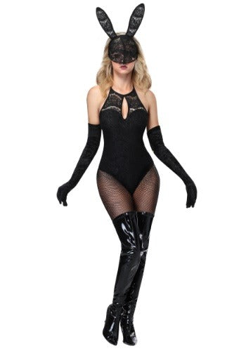 WOMEN'S LACE BUNNY COSTUME