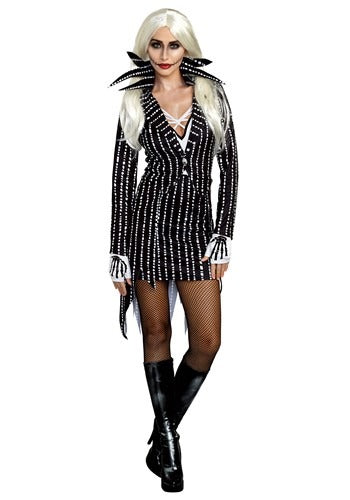 MADAME SKELETON WOMENS COSTUME