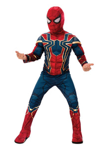 MARVEL INFINITY WAR DELUXE IRON SPIDER KID'S COSTUME