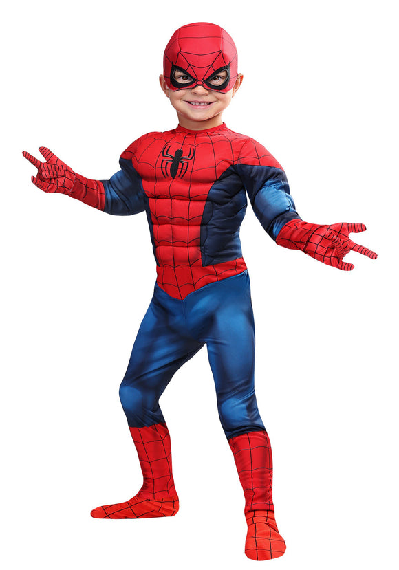 MARVEL SPIDERMAN TODDLER COSTUME