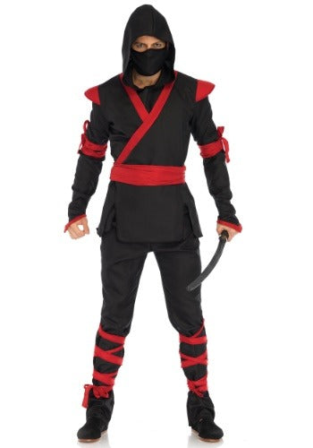 MENS ADULT NINJA COSTUME