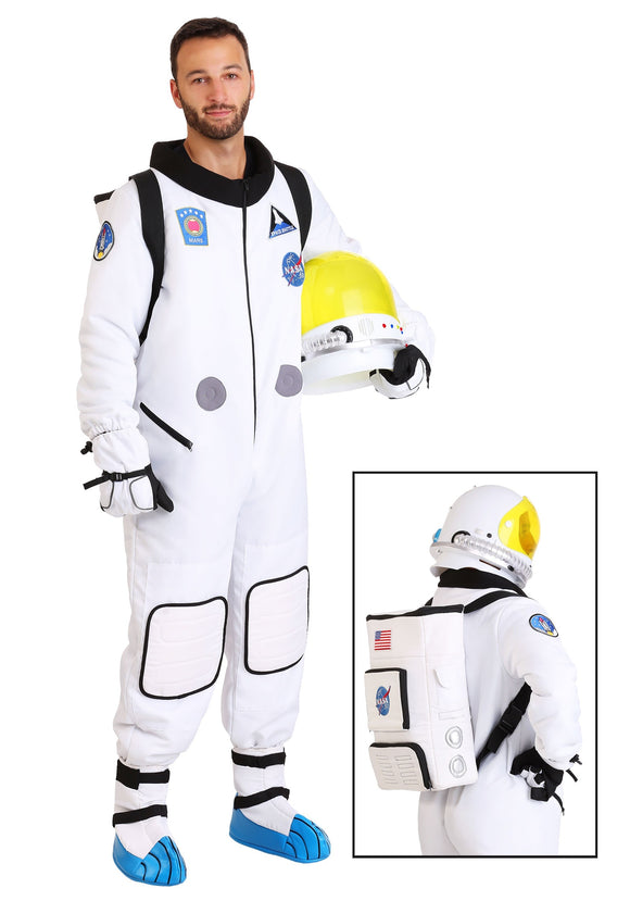MEN'S DELUXE ASTRONAUT COSTUME