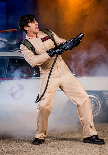 GHOSTBUSTERS MEN'S DELUXE COSTUME