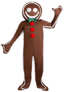 ICED GINGERBREAD MAN MEN'S COSTUME