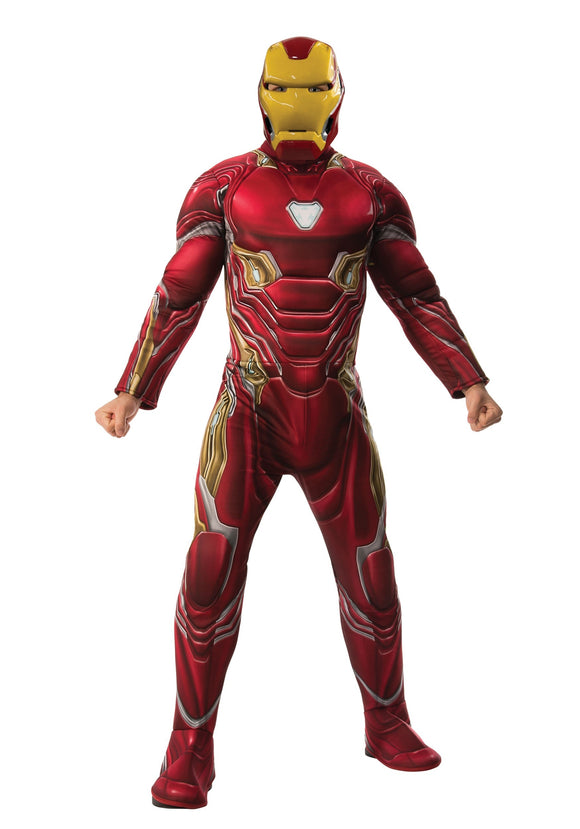 ADULT MARVEL INFINITY WAR DELUXE IRON MAN COSTUME