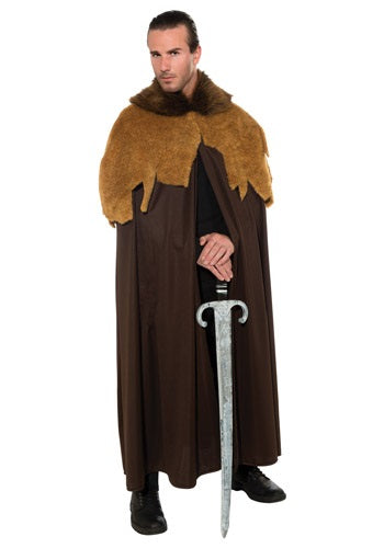 MEDIEVAL MEN'S WARRIOR CLOAK COSTUME