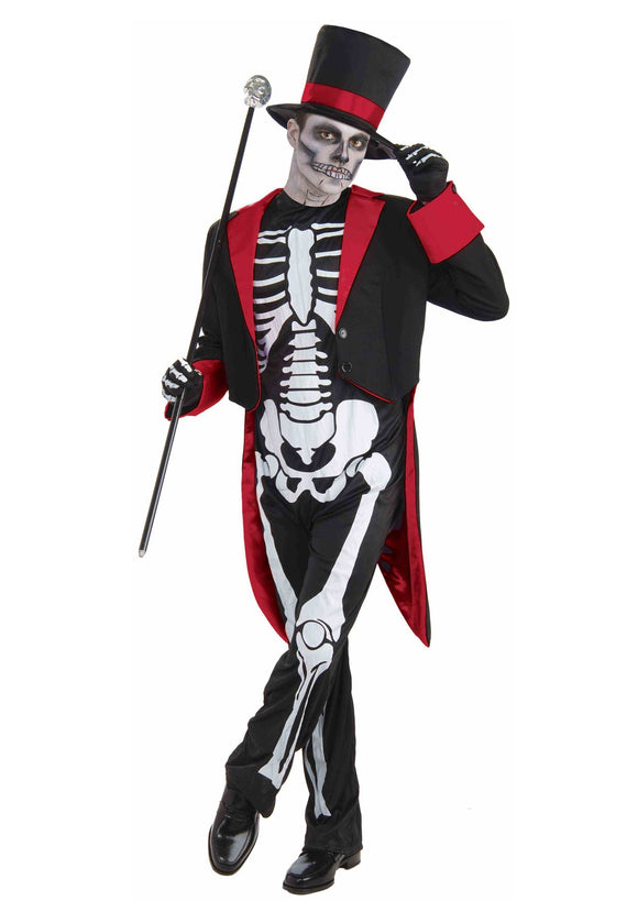 MR. BONE JANGLES COSTUME FOR ADULTS