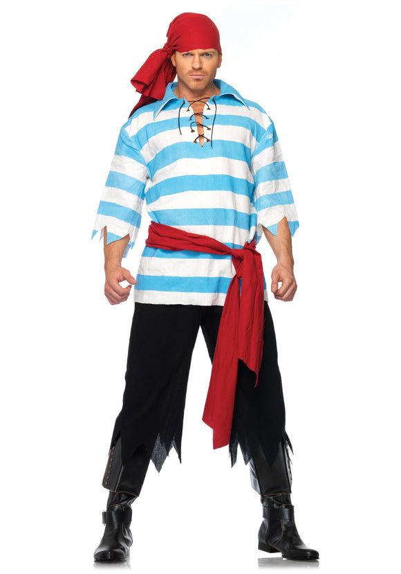 MENS PILLAGING PIRATE COSTUME