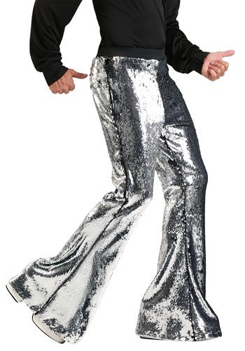 MEN'S REVERSIBLE SEQUIN DISCO PANTS
