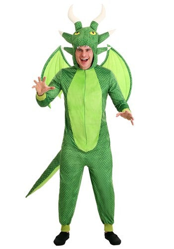 Men's Untamed Dragon Jumpsuit Costume
