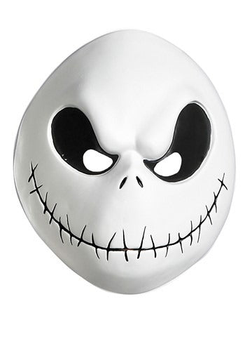 NIGHTMARE BEFORE CHRISTMAS ADULT JACK SKELLINGTON VACUFORM MASK